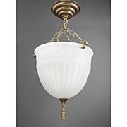 Peerlite Milk Glass Hanging Pendant Light