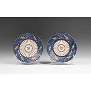 Pair of Ambrosius Lamm Decorated Dresden Dessert Plates