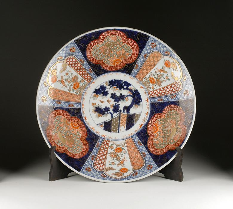 19th C. Japanese Imari Charger, Meiji
