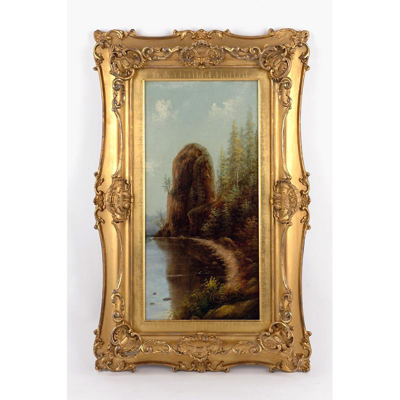 Oil on Panel by Oregon Artist Eliza Barchus (1857-1959)