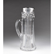 SALE Dominick & Haff American Cut Glass Claret Tankard