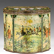 SALE Huntley & Palmers, Hunting Biscuit Tin, 1894 – 1895