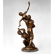 SALE Bronze Sculpture Rape of The Sabine Woman