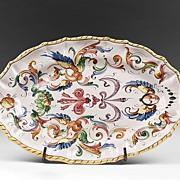 SALE Raffaellesco Style Fratelli Fanciullacci Oval Platter