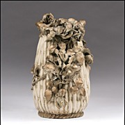 SALE Riessner & Kessel Amphora Pottery Floral Vase