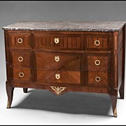 SALE Early 19th C. French Marquetry Commode