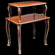 SALE Louis XV Style Two Tier Tea Table Etagere Ormolu Mounted