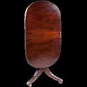 SALE Regency Tilt Top Oval Table