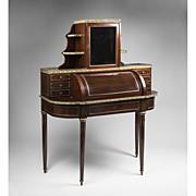 SALE French Louis XVI Style Ormolu Mounted Bonheur du Jour or Desk