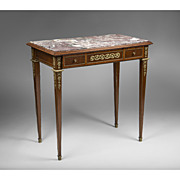 SALE Late 19th C. Louis XVI Center Table