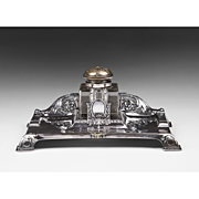 SALE Art Nouveau English Standish Or Inkstand