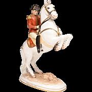 SALE Royal Vienna Wien Augarten Spanish Riding School Figurine