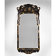SALE Vintage Friedman Brothers Queen Anne Style Chinoiserie Mirror