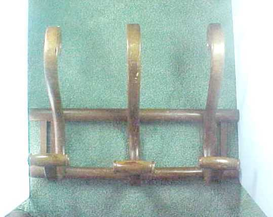 Early Vintage Bentwood Hat and Coat Rack