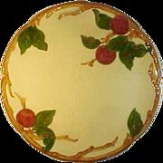 "Franciscan Apple Chop Plate Round Platter 12 3/8"" ca 1949 MT"