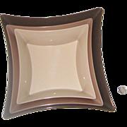 Precidio Objects Melmac Geometric Nesting Bowls: Circa 1960s