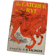 "SALE '51 Hardback ""The Catcher in the Rye"" w/Dust Jacket: 3rd Edition"