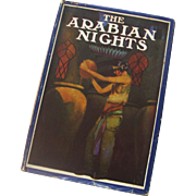 "SALE Art Deco Ed. ""The Arabian Nights"": 1924: W/Dust Jacket: Illustrated"