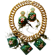 SALE Outré Sea Charms Demi-Parure:  Under the Sea & Over the Top!