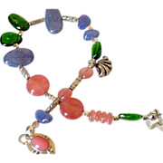 SOLD Gemstone Layering Bracelet by Pilula Jula 'Brave Dancing'