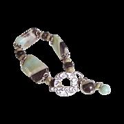 Amazonite Cuff Bracelet by Pilula Jula 'Falling in Style'