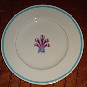 """Royal Worcester Bone China """" Florizel """" Dinner Plate"""