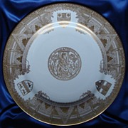 West Minster Abbey Spode Cabinet Plate