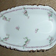 AK Limoges France Serving Tray/ Dish