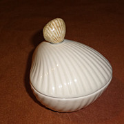 Fitz & Floyd Sea Shell Vanity Box