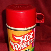 1969 Hot Wheels Lunch Box Thermos