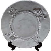 Vietri - Incanto - White Grape - Dinner Plate - Italy
