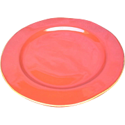 "Vietri - Rosso Vecchio - Red 12"" Dinner plate/Charger"