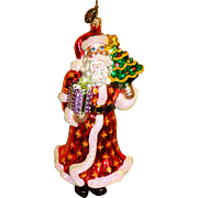 2006 Radko Santa Christmas Ornament