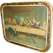 1930's Jesus - Last Supper - Print