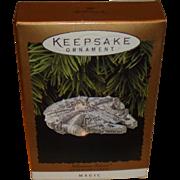 SOLD Star Wars - Millennium Falcon - Hallmark - Christmas Ornament - 1996 - Mint in Box