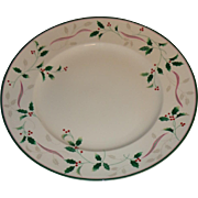 Christopher Stuart - Holiday Splendor - Chop Plate