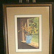 """Bob Timberlake Signed and Numbered Print """"July"""""""