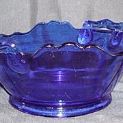 Cobalt Blue Mt. Pleasant Double Shield Square Bowl
