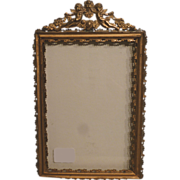 SOLD 19th century - French brass picture frame