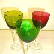 SALE St Louis  Grand Lieu crystal sherry glass