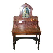REDUCED 19th century - French marble vanity