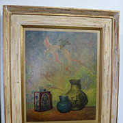 REDUCED Print of Alexander Canedo painting