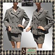 Vintage 1960s Irish Tweed Ladies Suit Donegal Ireland - M