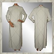 Vintage 60s Beaded Wedding Gown // 1968 Bride Wedding Dress Ladies Size M / L