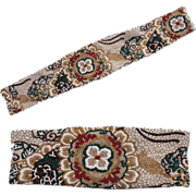 """Vintage 60s Fully Hand Beaded Belt Ladies Size Small 25.5"""" Waist"""