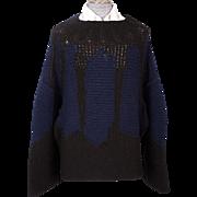 Vintage Yohji Yamamoto Oversized Wool Sweater Size M Unisex