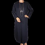 Vintage 1980s Luciano Soprani Avant Garde Italian Design Dress Size M