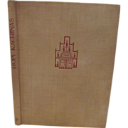 1938 Hopi Kachinas,First Edition, 28 Color Plates, Edwin Earl, Edward A Kennard, Published by