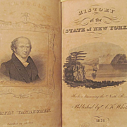 1831 History of the State of New York by F S Eastman, Publ Augustus K White