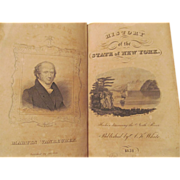 1831 History of the State of New York by F S Eastman, Publ Augustus K ...